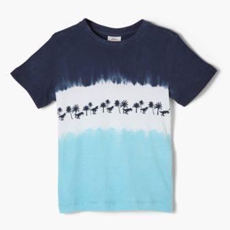 Jungen T-Shirt mit coolem Farbverlauf