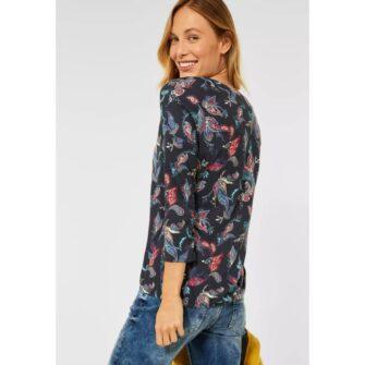 Paisley Shirt im Tunika Style