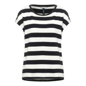 T-Shirt mit klassischem Streifen Muster von STREET ONE