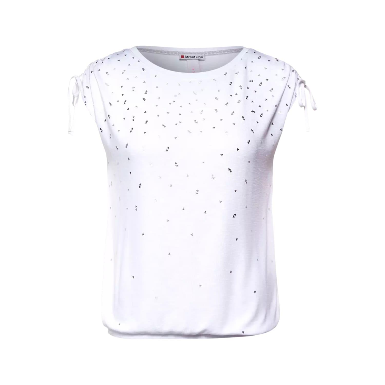 T-Shirt mit Folienprint von STREET ONE