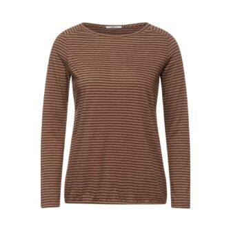 Shirt mit Streifen Muster von CECIL