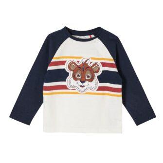 Baby Langarmshirt mit Tiermotiv