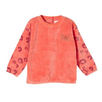 Baby Sweatshirt aus Nickystoff