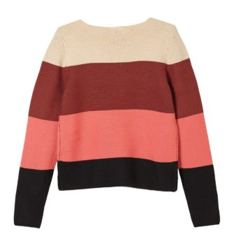 Girls Pullover im Colourblock