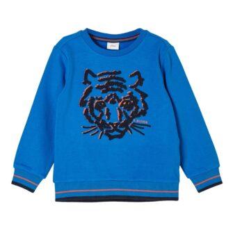 Boys Sweatshirt mit Tiger Artwork