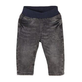 Baby Jeans mit Tiger Waschung und Elastikbund