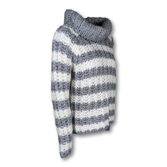 BLAUMAX Grobstrick Pullover Tessa Stripe