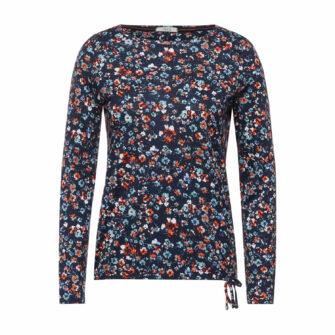 Feminines Shirt mit Blumen Print von CECIL