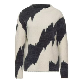 STREET ONE Pullover mit angesagtem Jacquard Muster