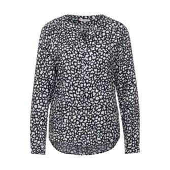 Bluse mit trendigem Allover-Print von STREET ONE