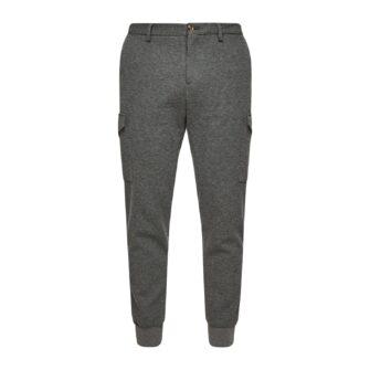 Slim Fit Cargo Hose aus Jersey