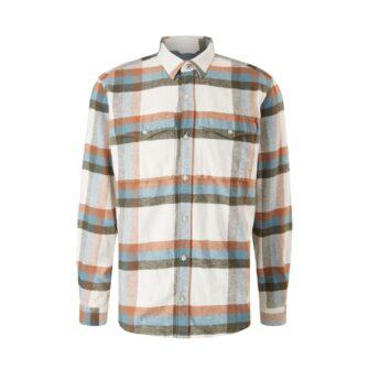 Flauschiges Twill-Hemd mit Karomuster