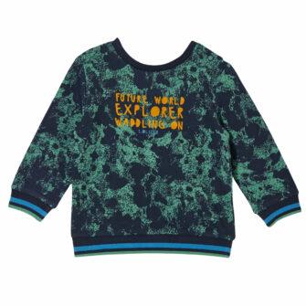 Baby Sweatshirt mit Allover Print
