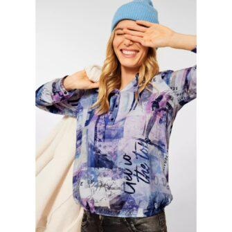 CECIL Bluse im angesagten Tunika Style