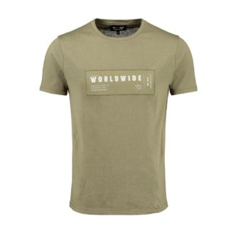 KEY LARGO T-Shirt Worldwide aus Organic Cotton