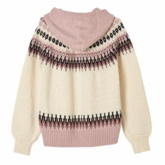 Kapuzen-Pullover im Norweger Style