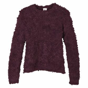 Flauschiger Pullover für kalte Tage